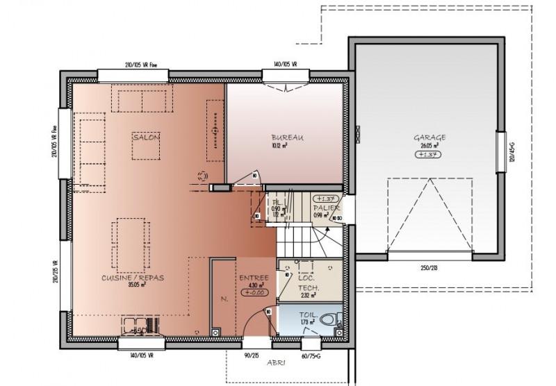 Sale house / villa Viuz-la-chiésaz 373000€ - Picture 3