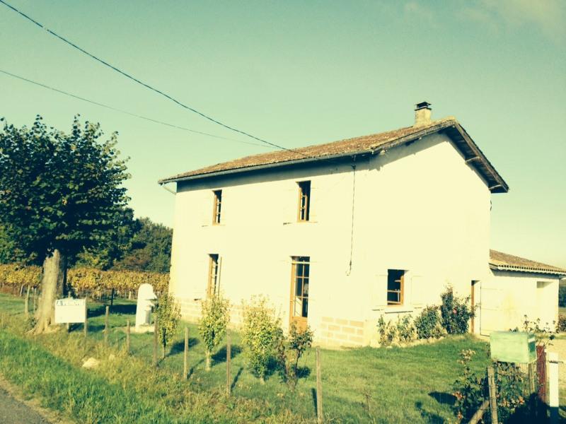 Verkoop  huis Montagoudin 114500€ - Foto 1