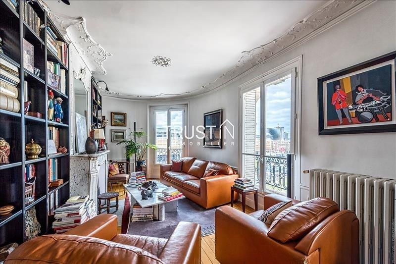 Vente appartement Paris 15ème 858000€ - Photo 2