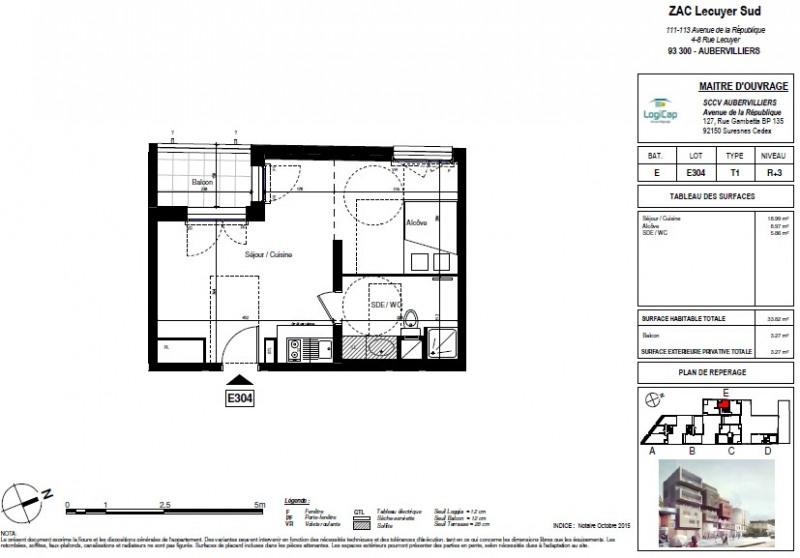 Vente appartement Aubervilliers 165000€ - Photo 1