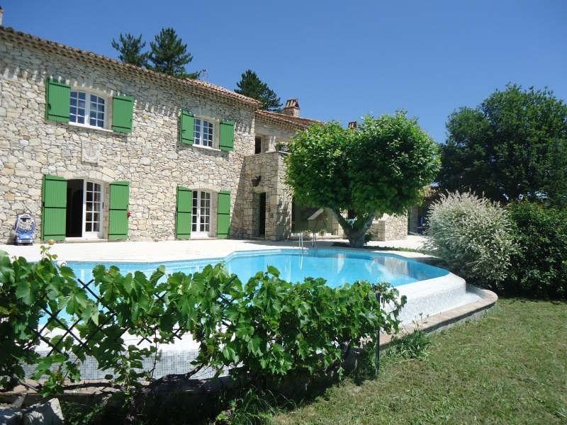 Vente de prestige maison / villa Barret sur meouge 970000€ - Photo 1