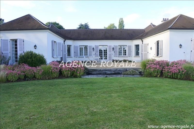 Vente de prestige maison / villa Chambourcy 1585000€ - Photo 1