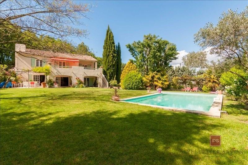 Vente de prestige maison / villa Le puy ste reparade 630000€ - Photo 1