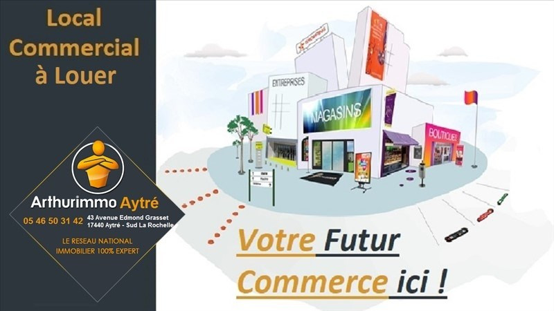 Location local commercial Aytre 46€ HT/HC - Photo 1