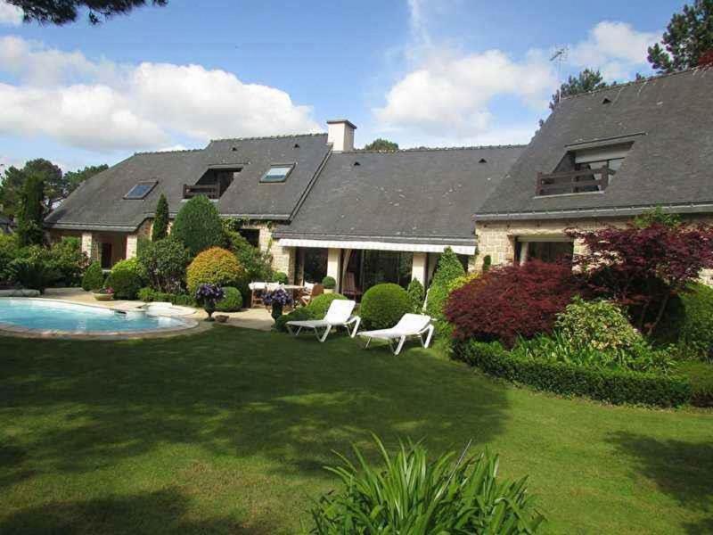 Revenda residencial de prestígio casa Ploemel 586850€ - Fotografia 2