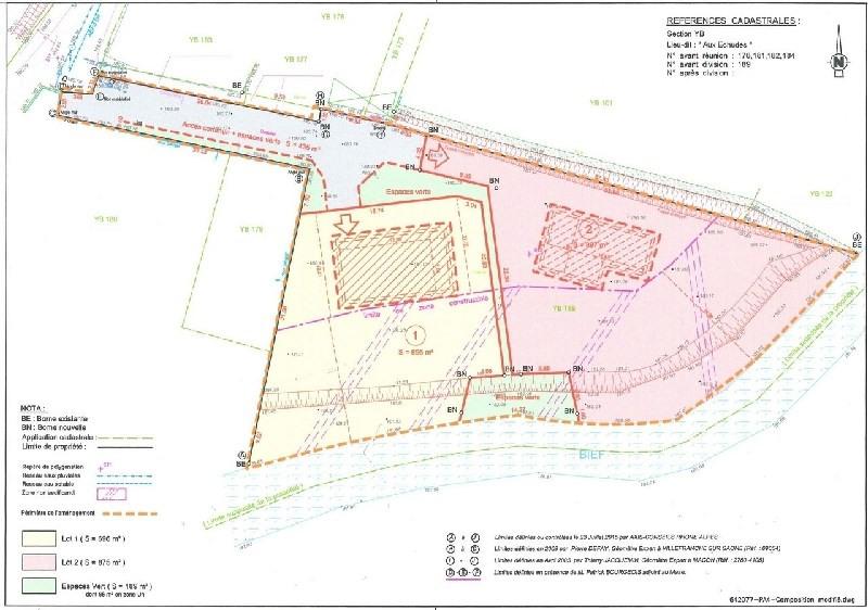 Vendita terreno St didier sur chalaronne 135000€ - Fotografia 2