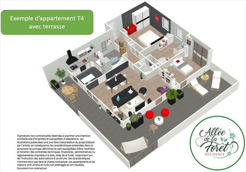Produit d'investissement appartement Bueil 229000€ - Photo 3
