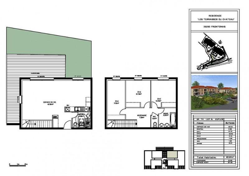 Vente appartement Frontonas 228000€ - Photo 3