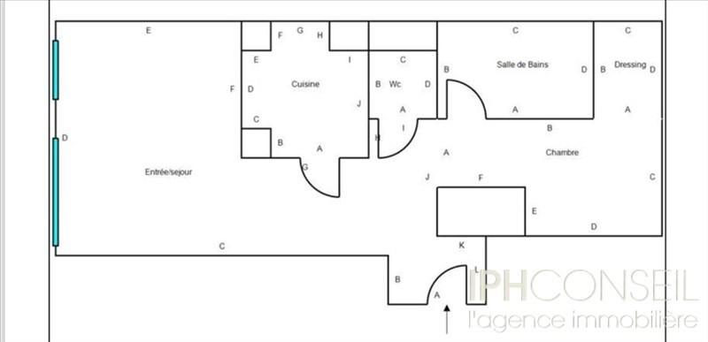 Vente appartement Neuilly sur seine 504000€ - Photo 4