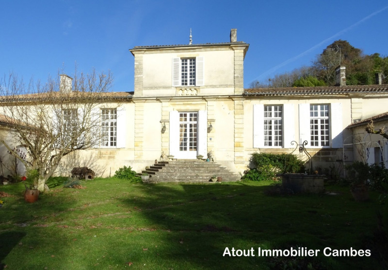 Deluxe sale house / villa Cambes 845 000€ - Picture 1