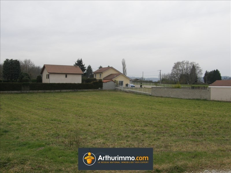 Vente terrain Morestel 112 000€ - Photo 1