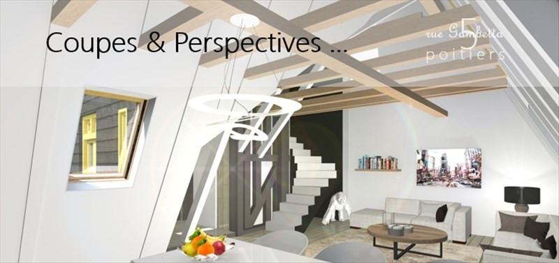 Vente appartement Poitiers 223752€ - Photo 1