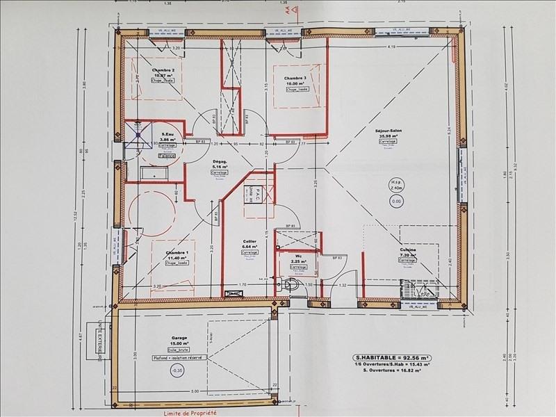 Vente maison / villa Maucor 222000€ - Photo 1