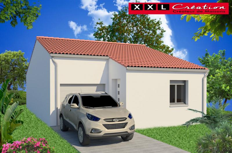 """Modèle de maison  """"Modèle de maison 3 pièces"""" à partir de 3 pièces Gard par XXL CREATION"""