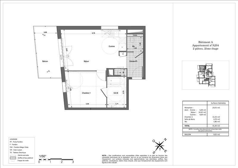 Vente appartement Ferney voltaire 252000€ - Photo 2