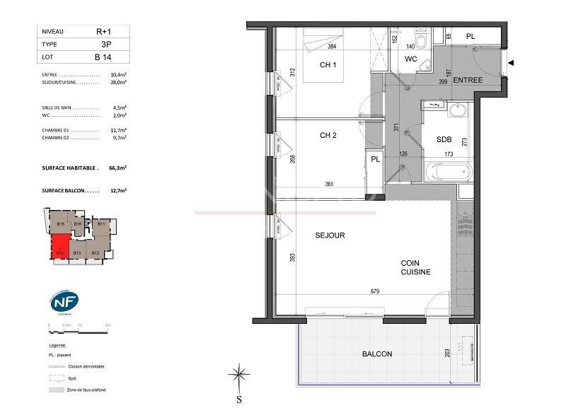 Vente de prestige appartement Antibes 395000€ - Photo 4