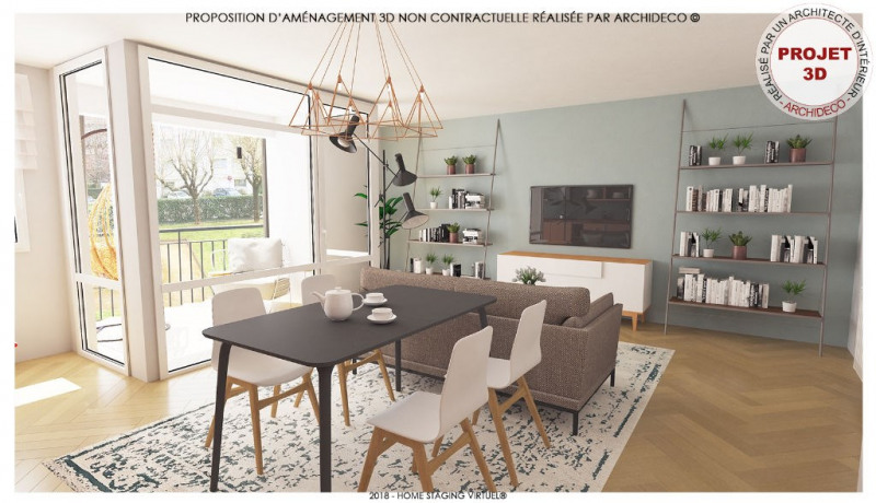 Appartement Lyon 3 pièce(s) 66 m2