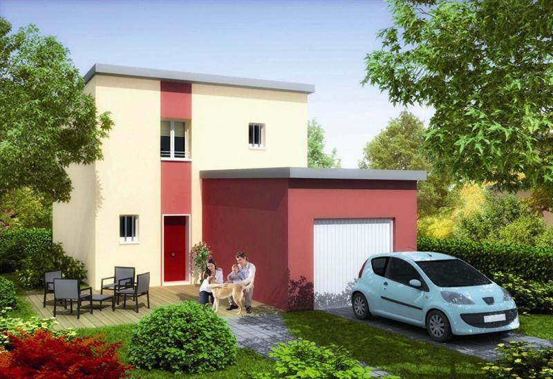 Maison  4 pièces + Terrain 750 m² Saint-Ouen-l'Aumône par MAISONS PIERRE