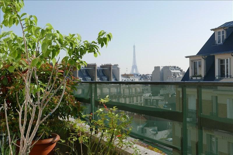 Vente de prestige appartement Paris 16ème 1097200€ - Photo 1