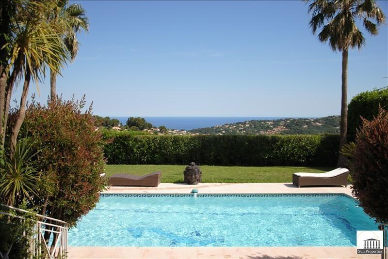 Vente de prestige maison / villa Le golfe juan 1780000€ - Photo 1