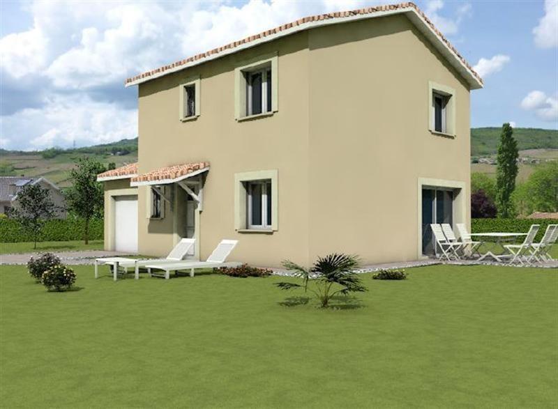 Maison  6 pièces + Terrain 740 m² Belleville par MAISONS ARLOGIS