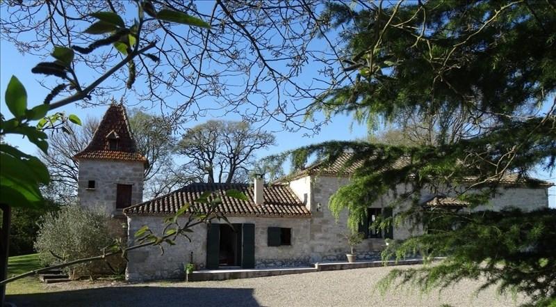 Deluxe sale house / villa Montaigu de quercy 436800€ - Picture 1