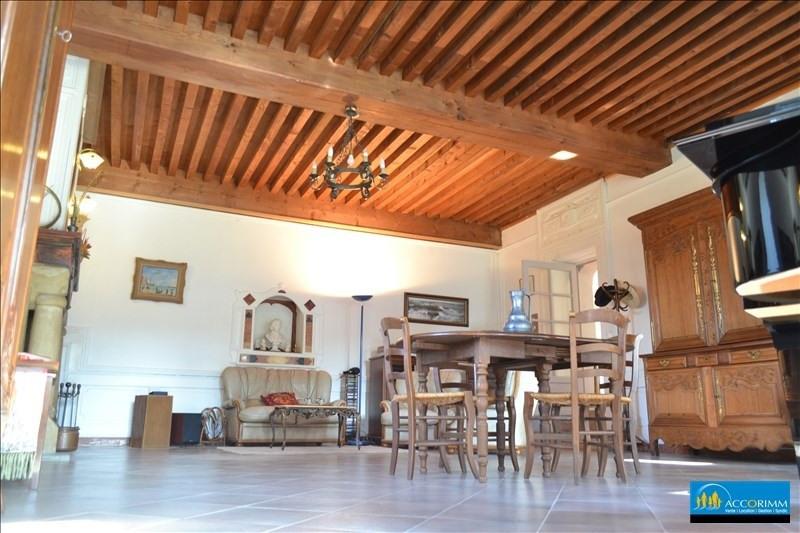 Vente de prestige maison / villa St just chaleyssin 540000€ - Photo 3