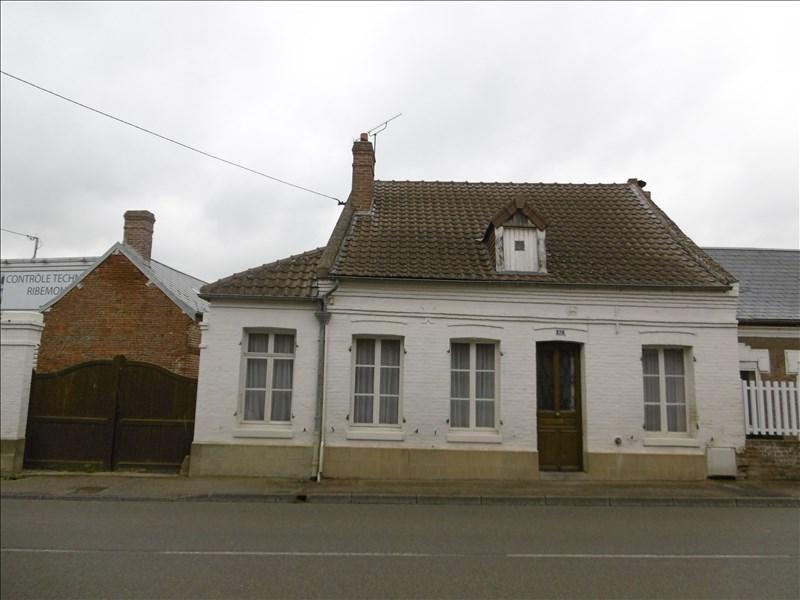 Vente maison / villa St quentin 80500€ - Photo 1