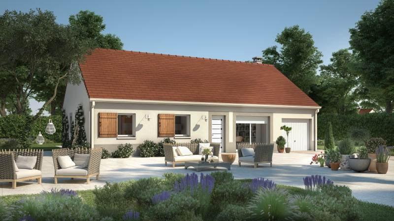 Modèle de maison  Yvelines par MAISONS FRANCE CONFORT