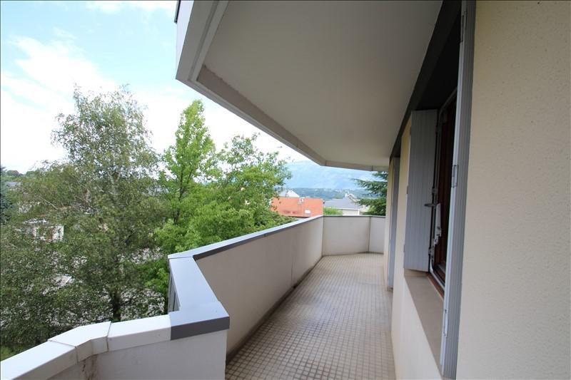 Verkoop  appartement La motte servolex 204000€ - Foto 5