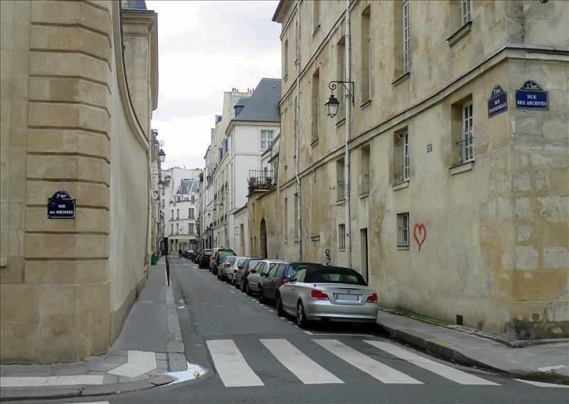 Location parking Paris 3ème 160€ CC - Photo 1