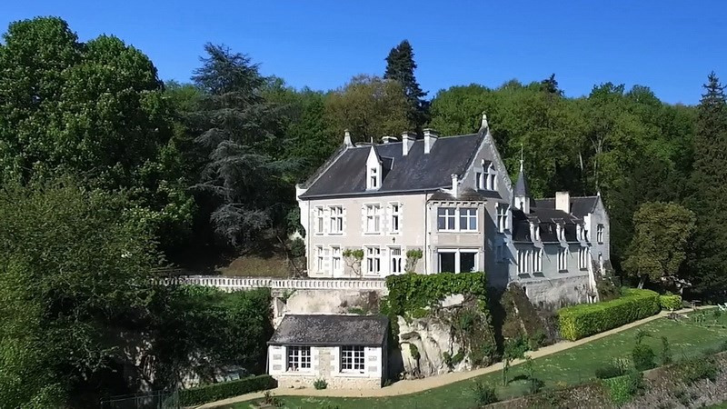 Deluxe sale chateau Angers sud loire 20 mn 1 150 000€ - Picture 1
