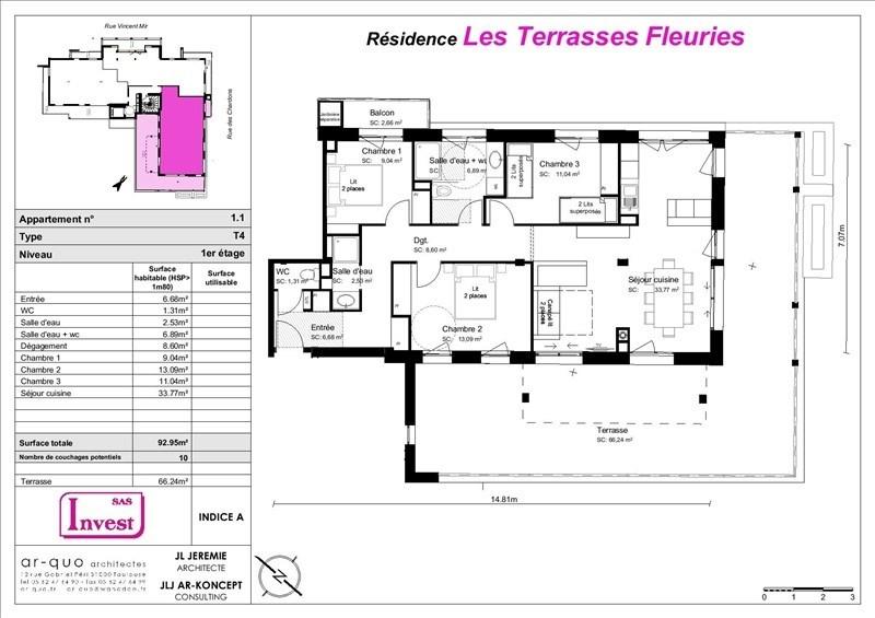 Vente de prestige appartement St lary soulan 247500€ - Photo 4