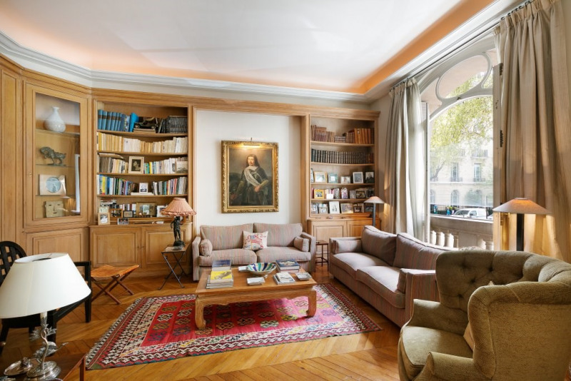 Venta de prestigio  apartamento Paris 16ème 3970000€ - Fotografía 2