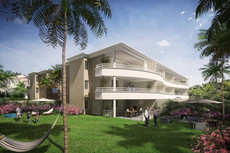Investment property apartment Le lamentin 245000€ - Picture 2