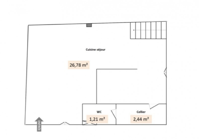 Rental apartment Givors 515€ CC - Picture 1