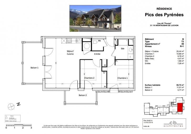 Vente appartement Bagneres de luchon 209125€ - Photo 7