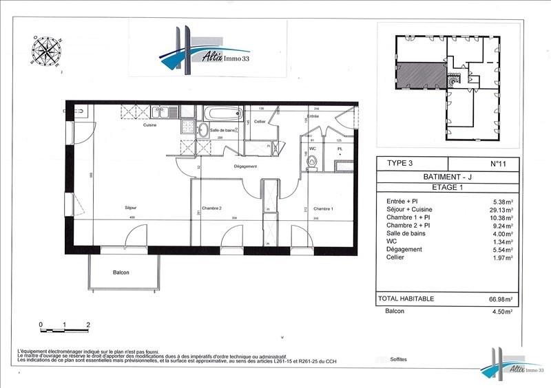 Vente appartement Carbon blanc 176400€ - Photo 4