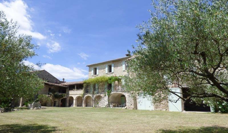 Vente de prestige maison / villa Barjac 799000€ - Photo 3