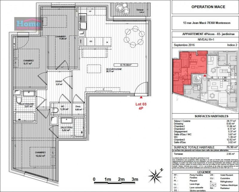 Vente appartement Montesson 364400€ - Photo 5
