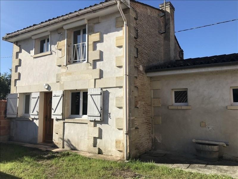 Vente maison / villa Margaux 169600€ - Photo 1
