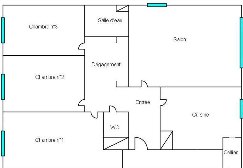 Vente appartement Bougival 340000€ - Photo 6