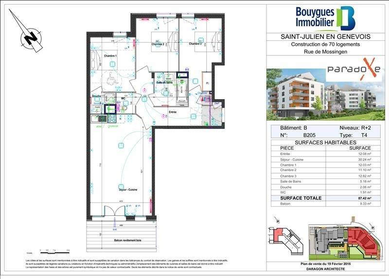 Vente appartement St julien en genevois 427000€ - Photo 2