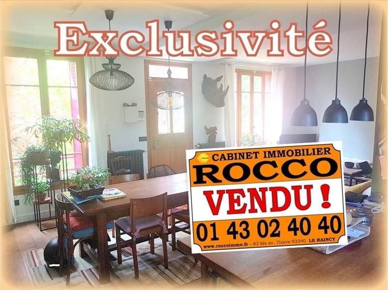 Vente maison / villa Les pavillons sous bois 333000€ - Photo 1