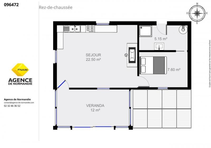 Vente maison / villa Broglie 96000€ - Photo 3