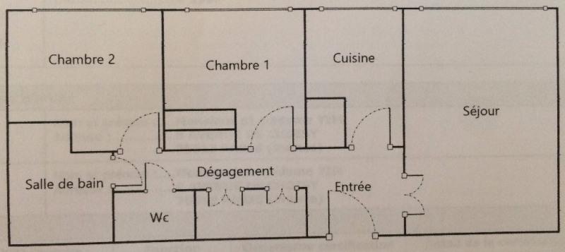 Vente appartement Paris 13ème 380000€ - Photo 7