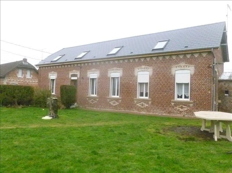 Sale house / villa Peronne 118000€ - Picture 1