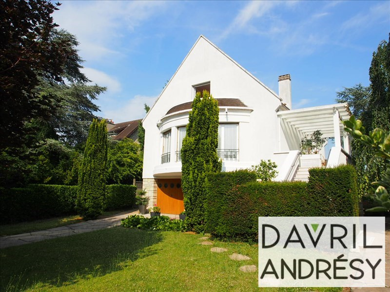 Deluxe sale house / villa Andresy 600 000€ - Picture 1