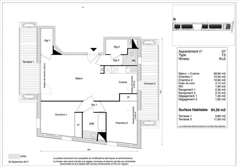 Vente appartement Toulouse 205900€ - Photo 1