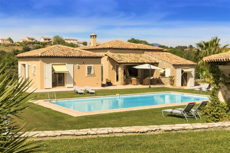 Deluxe sale house / villa Cagnes sur mer 1500000€ - Picture 2